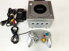 Nintendo GameCube Platinum Silver Console System Tested Free Fast Shipping