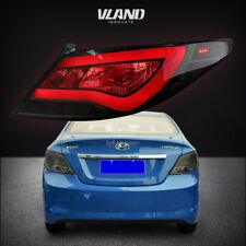 Replacement LED Tail Light For Hyundai Accent/Verna/Solaris 2012-2017 Smoked Len
