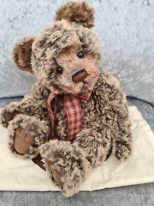 Charlie Bears MARGARET Plumo Bear Rare & Retired