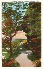 Postcard Ohio Lancaster Mt. Pleasant Hanging Rock Fairfield County Linen 1940s