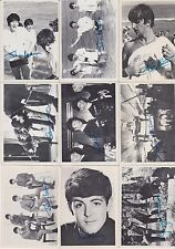 MANY CARDS 1964 Topps BEATLES PICK ONE/MULTIPLE CARDS NICE NO CREASES