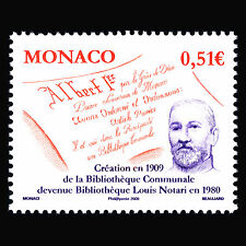 Monaco 2009 - 100th Anniversary of the Louis Notari Library - Sc 2541 MNH