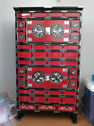 Korean Red & Black Mother of Pearl All-Purpose Chest
