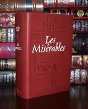 Les Miserables by Victor Hugo Unabridged  Deluxe Soft Leather Feel Edition