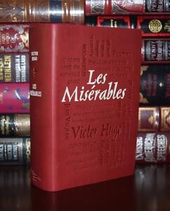 New Les Miserables by Victor Hugo Unabridged Deluxe Soft Leather Feel Edition