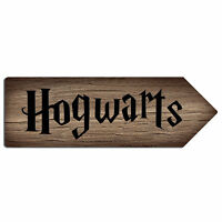 Various Designs - Potter Locations | Metal Wall Sign Arrow Plaque | Harry Movie