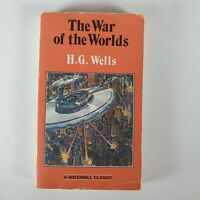 The War of the Worlds by H. G. Wells Vintage 1980 Paperback Watermill Classic