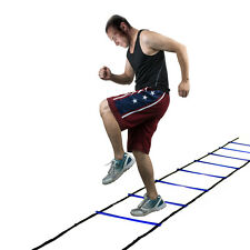 Durable 8 rung Agility Ladder Speed Soccer Football Fitness Feet Training Generi