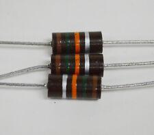 3pk-15K- 2W- 10% Allen Bradley Resistors (R15KAB-10)