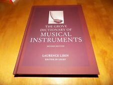 THE GROVE DICTIONARY MUSICAL INSTRUMENTS VOLUME 5 Five Instrument Music Book NEW