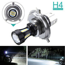 H4 Motorcycle 3030 LED Hi-Lo Beam Headlight Head Light Lamp Bulb 6500K White 12V