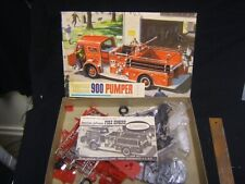 Aurora American LaFrance 900 Pumper Model Kit Unassembled in Box 599-298
