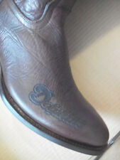 NFL MIAMI DOLPHINS Cowboy Western Leather Boots Men's Size 10  FREE SHIP