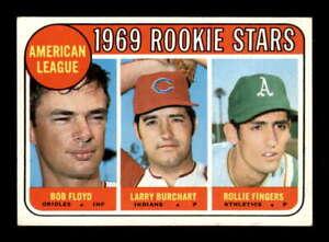 1969 Topps #597 Fingers/Floyd/Burchart Rookie Stars VGEX X2272903
