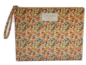 Shiseido by Tory Burch Limited Edition Wrist Bag Cosmetic Makeup Case Pouch