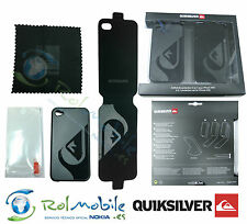Quiksilver 3 in 1 Set iPhone 4 / 4S Flip and Silicone Case + Screen Protector