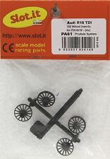 SLOT IT SIPA61 SLOT IT AUDI R8 TDI WHEEL INSERTS NEW 1/32 SLOT CAR PART