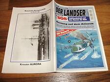 LANDSER Präs.:  SOS  200 // RETTUNG auf dem ATLANTIK / BV 222 Wiking hilft U 601