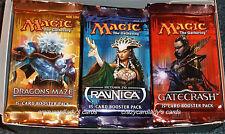 MAGIC GATECRASH RETURN TO RAVNICA DRAGON'S MAZE BOOSTER BOX 12 PACKS OF EACH