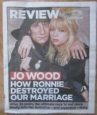 Jo Wood finally tells her story- Mail on Sunday 2 Review – 24 February 2013