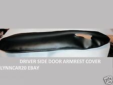 INTERIOR DRIVER SIDE DOOR PANEL ARMREST RE COVER FOR BLACK ACURA RL 2005 to 201