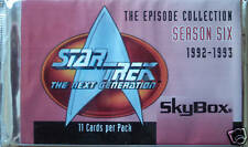 STAR TREK THE NEXT GENERATION SEASON SIX BOOSTER PACK