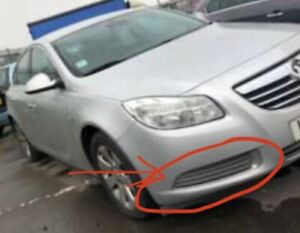 Vauxhall Insignia Bumper Trim Inc Chrome (No Fogs ) Cover Front  2009 - 2012  B2