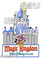Disney Magic Kingdom Cinderella Castle Scrapbook Paper Piece Piecing