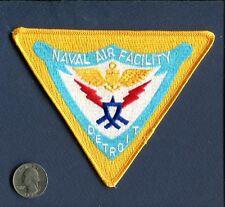 NAF NAVAL AIR FACILITY AIR STATION DETROIT MI US Navy Base Squadron Jacket patch