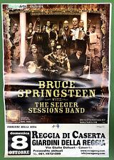 BRUCE SPRINGSTEEN SEEGER SESSION LIVE CONCERTO REGGIA CASERTA POSTER LOCANDINA 1
