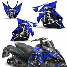 Decal Graphic Kit Arctic Cat Pro Climb Cross Snowmobile Sled Wrap 12-13 REAP BLU