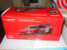 "AUTO ART 1:18 #80285 NISSAN SKYLINE GT-R (R34) JGTC 2002 ""XANAVI NISMO"" #22 RARE"