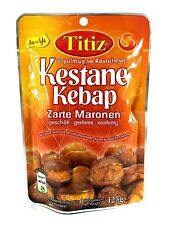 10 x 125g Titiz geschälte Maronen geröstet Essfertig Esskastanien Zarte Maronen