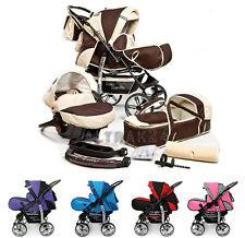 ★★★ Kombi Kinderwagen Sportwagen Kamel Babyschale Autositz Buggy Stroller Pram