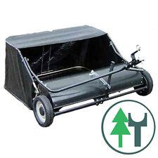 Rasenkehrmaschine 1,20m 120cm Kehrmaschine Rasenkehrer Laubsammler