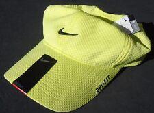 NEW! RARE Yellow-Black NIKE TAILWIND Men-Women's Runner Cap DRI-FIT Golf Hat