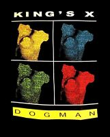KINGS X cd cvr DOGMAN COLOR PHOTOS / EST. 1994 Official SHIRT MED new