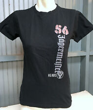 Jagermeister 56 Embroidered Black Large T-Shirt Liquor Booze