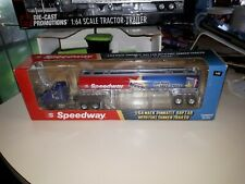 Mack Pinnacle Day Cab With Speedway Tanker Tractor-Trailer First Gear 1/64