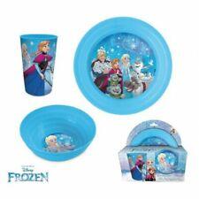 Frozen Breakfast Set 3 Pieces Plastic