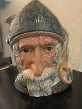 """Vintage Royal Doulton England Don Quixote Large 7"""" Toby Character Mug Jug D6455"""