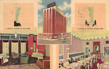 Oklahoma City,OK.Hotel Black,Multi-Views,Linen Advertising,Used,1939