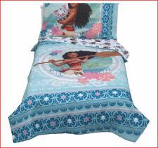 Disney MOANA Toddler Bed Set - Reversible Quilt- Comforter + Sheet Set 🌟NEW🌟