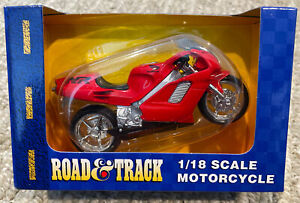 Road and Track Maisto 1:18 Scale Honda NR Motorcycle NIB
