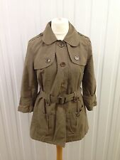 Womens Next Mac - Uk16 - Khaki Green - Great Condition