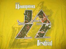 Hampton Cool Jazz Fest (Med) T-Shirt Gladys Knight Teena Marie Maze Sheila E.