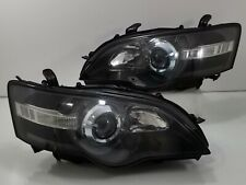 Subaru JDM LEGACY LIBERTY BPE BP5 BL5 STi HID BLACK Head Light Headlights WRx
