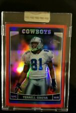 2006 Topps Chrome Red Refractor#146 Terrell Owens #D  / 259