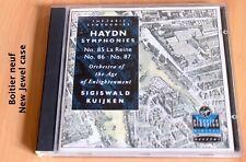Sigiswald Kuijken - Haydn - Symphonie 85 La Reine, 86 & 87 - CD Virgin
