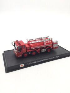 Morita Water Tanker 1984 1/87 n83/150 Trucks Of Firefighters of the World Base